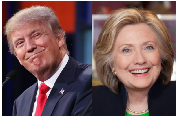 Figure 1. Either Donald or Hillary will be the next POTUS